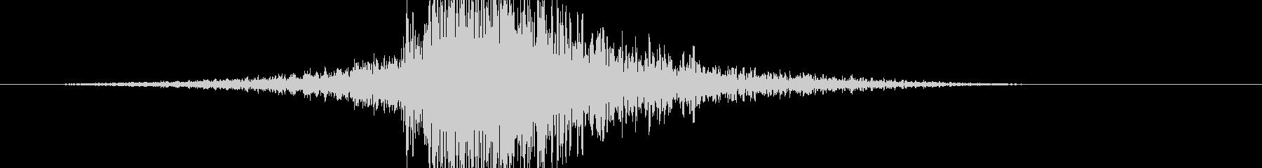 ビッグインパクトエクスプロージョン1の未再生の波形