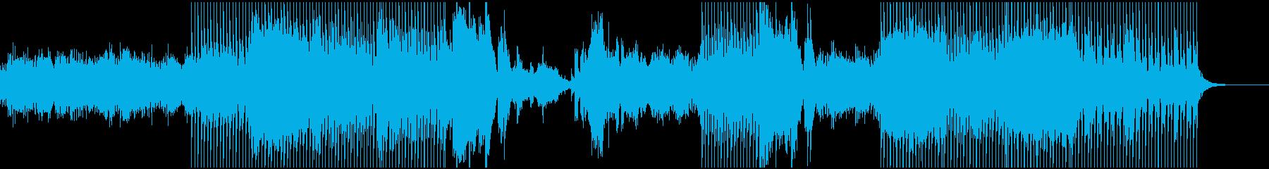 遠くに伸びていくようなイメージ(テクノ)の再生済みの波形