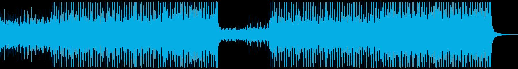 アコースティックギターを使ったポップダンの再生済みの波形