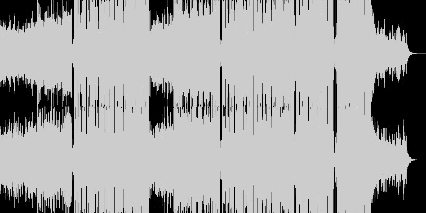 エモい!本格EDM/FutureBassの未再生の波形
