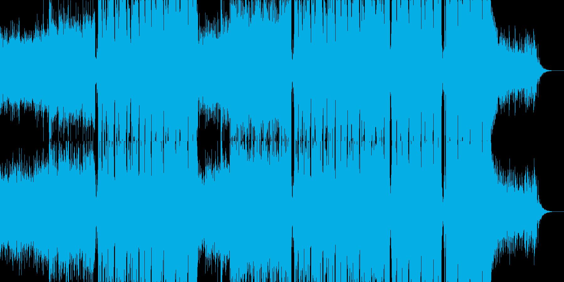 エモい!本格EDM/FutureBassの再生済みの波形