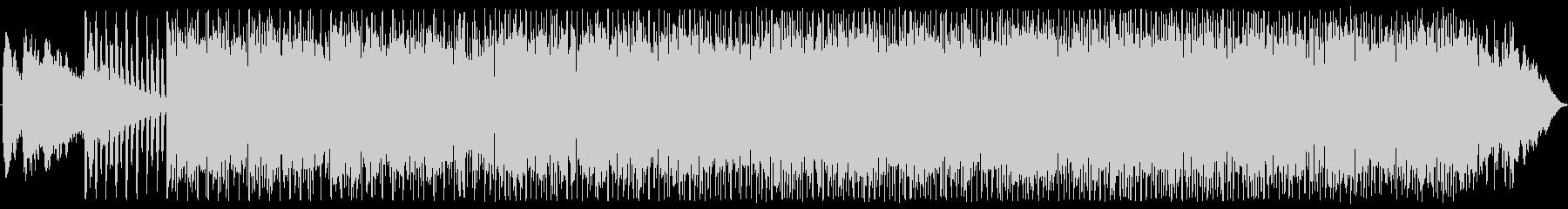 小気味よいラテン+ラウンジテイスト楽曲の未再生の波形
