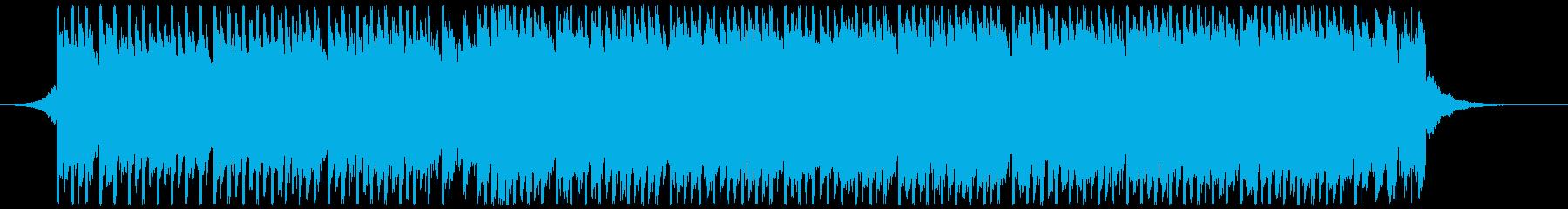 夏のパーティーダンス(ショート1)の再生済みの波形