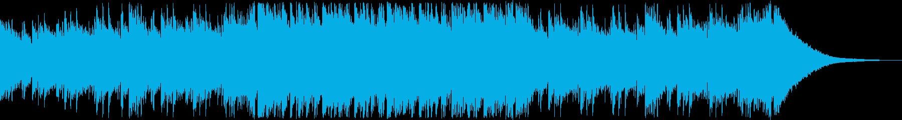 オープニング・エキサイティングな和風曲の再生済みの波形