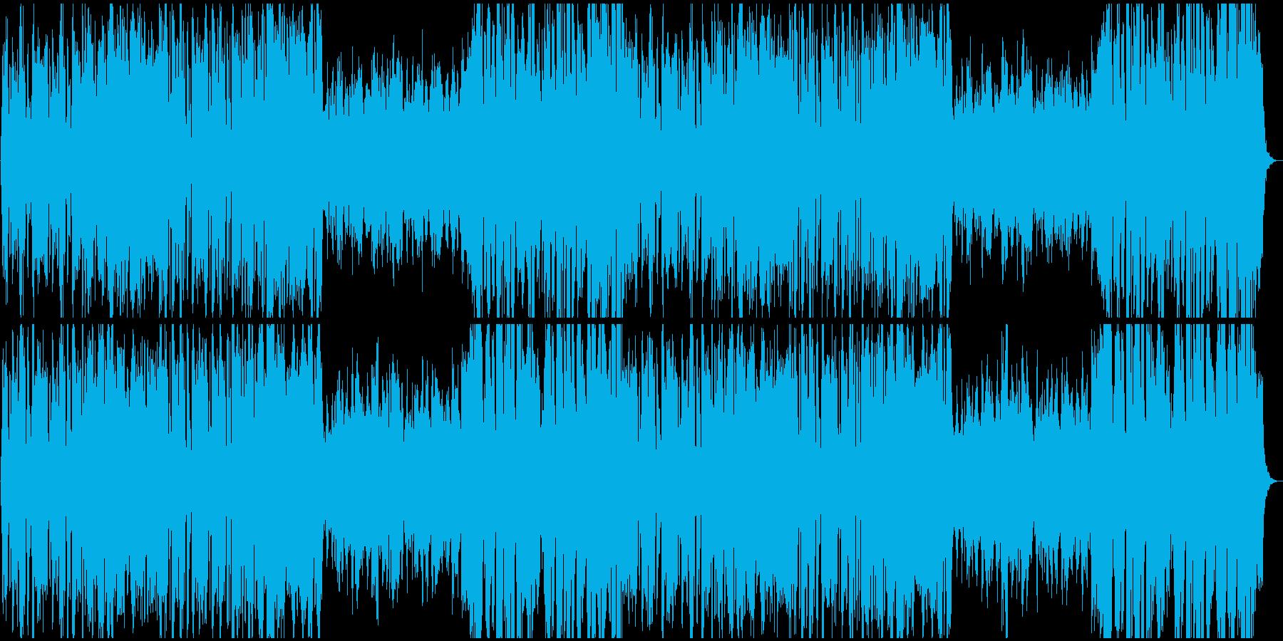 王宮の優雅なバロックの再生済みの波形