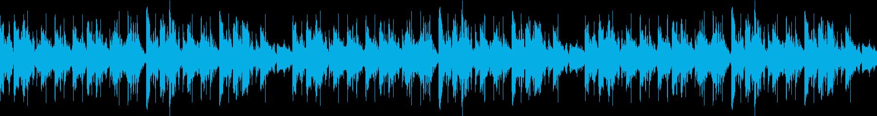 リバーブループ2の再生済みの波形
