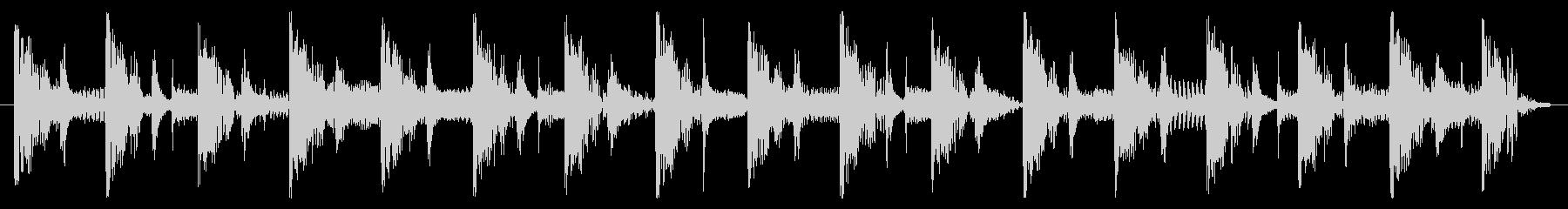 ベース生演奏のクールスラップジングル01の未再生の波形