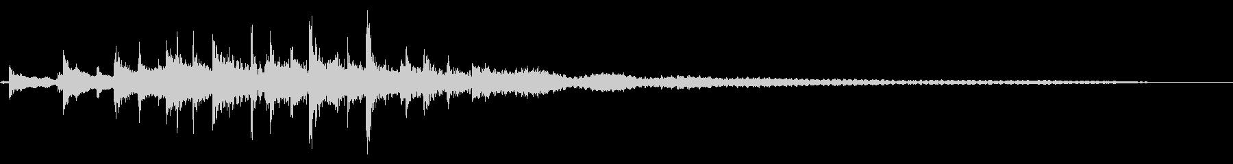 インド風ジングル04の未再生の波形