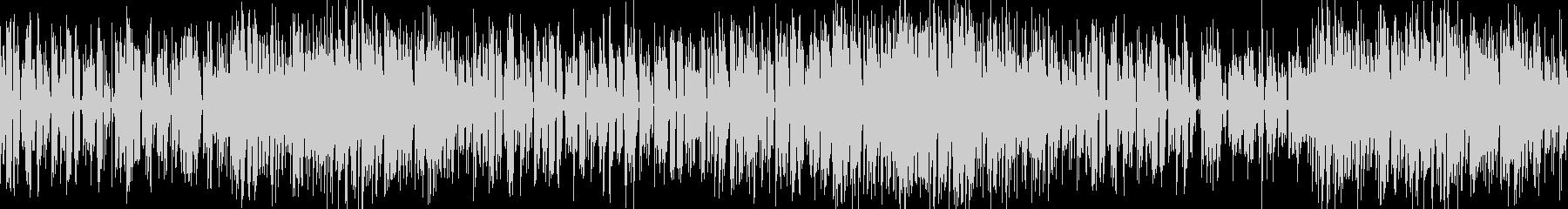 お洒落なジャズピアノトリオ17 ループの未再生の波形