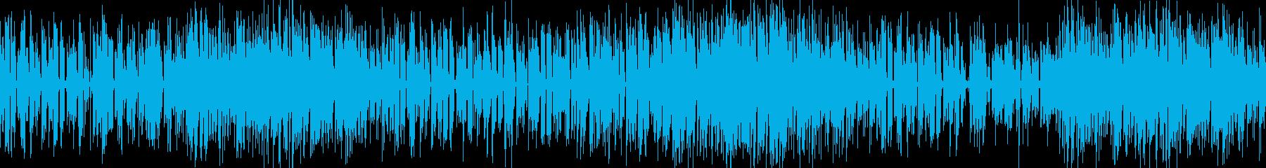 お洒落なジャズピアノトリオ17 ループの再生済みの波形