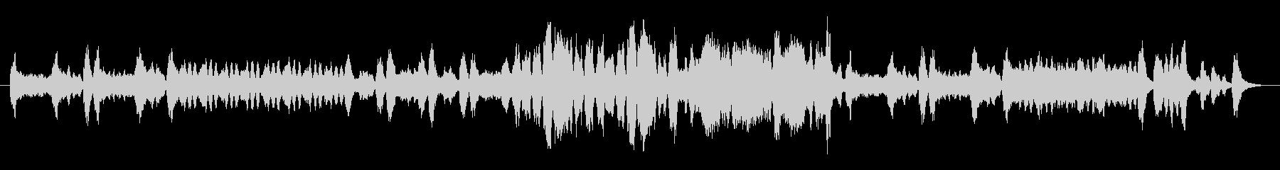 チェンバロが印象的でクラシカルな曲の未再生の波形