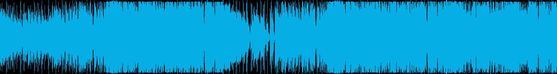 わくわく・ラジオ・コミカル・ファンクの再生済みの波形