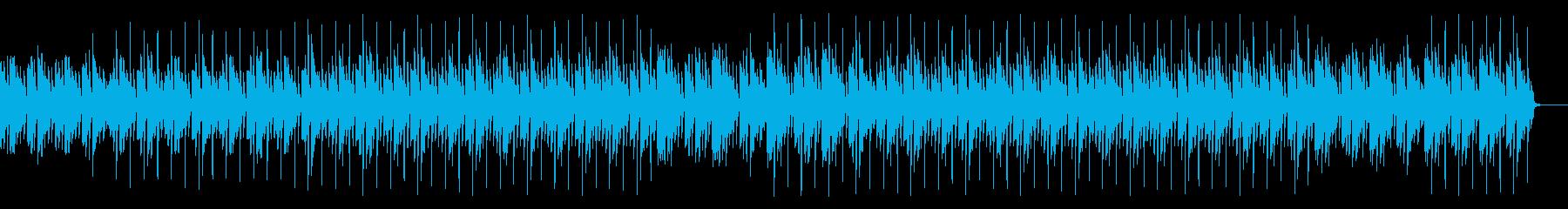 休日・リラックスエンディングチルアウトの再生済みの波形