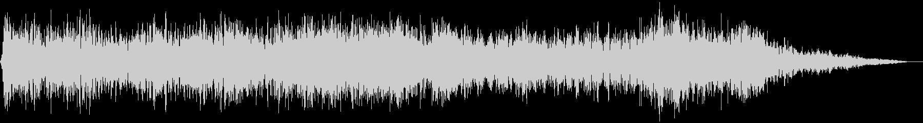 【アンビエント】ドローン_42 実験音の未再生の波形