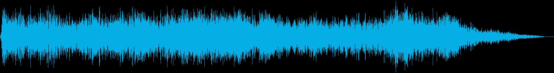 【アンビエント】ドローン_42 実験音の再生済みの波形