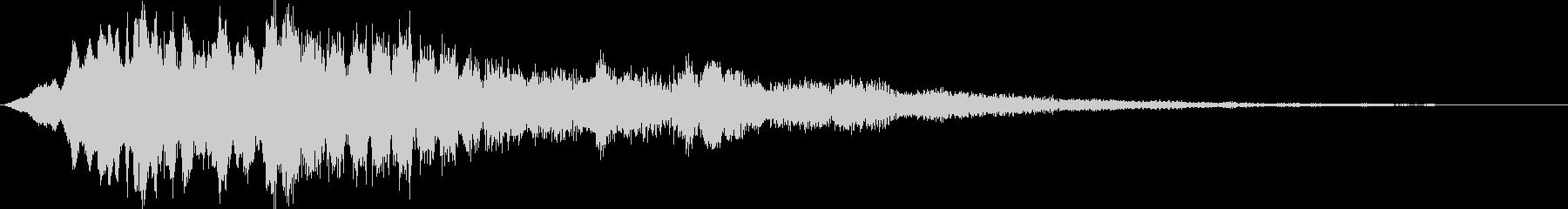 パルサーロゴ1の未再生の波形