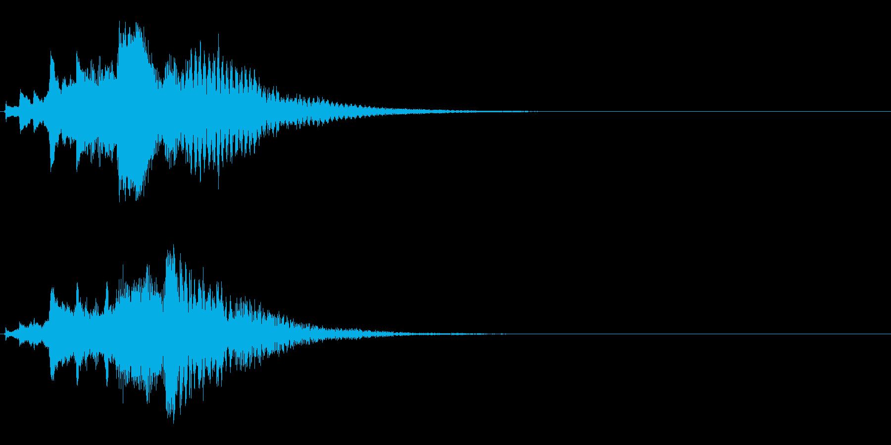 ハープ・下降_6-1の再生済みの波形