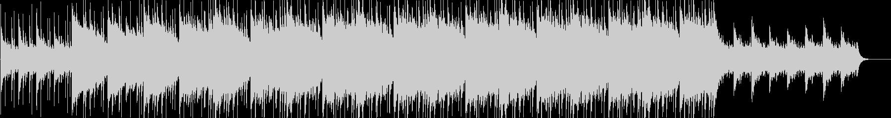 暗くも美しい洋楽風ロックBGMの未再生の波形