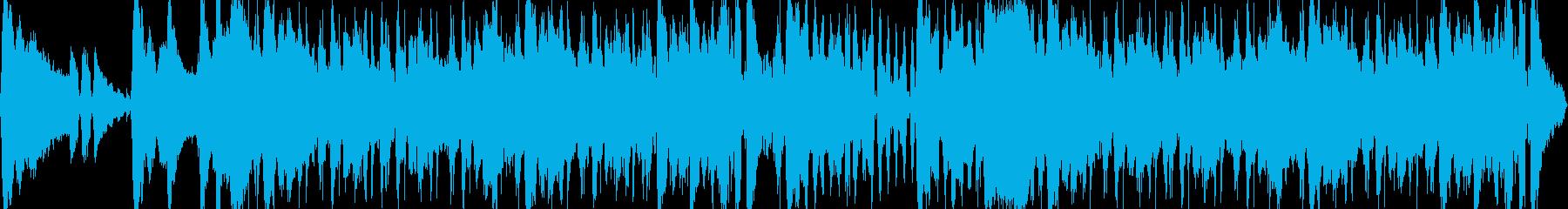 爽やかで疾走感のあるループBGMの再生済みの波形