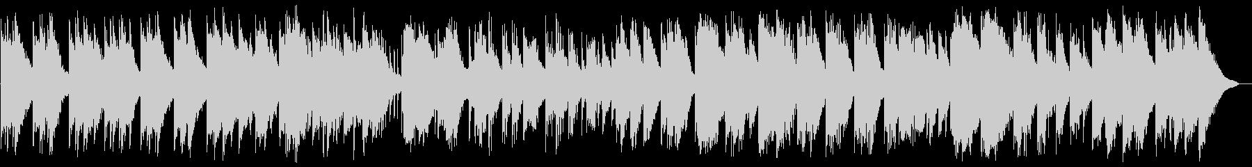 しっとりとして美しく幽玄なピアノバラードの未再生の波形