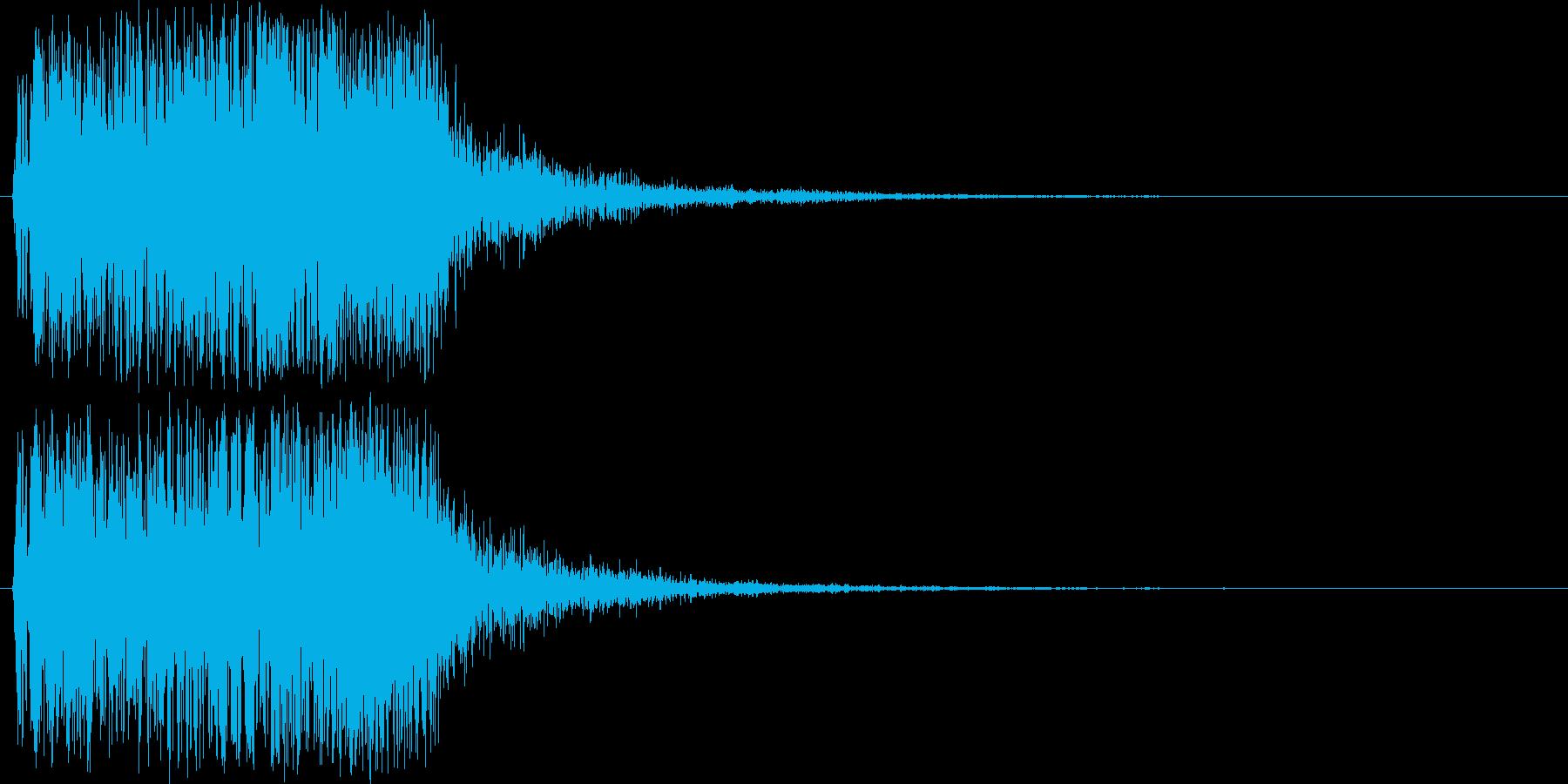 【ジングル】不思議・ダークファンタジーの再生済みの波形
