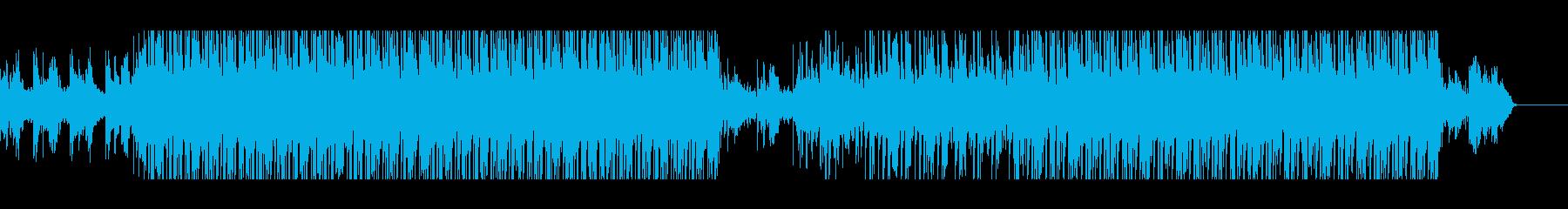 ダークシンセウェーブの再生済みの波形