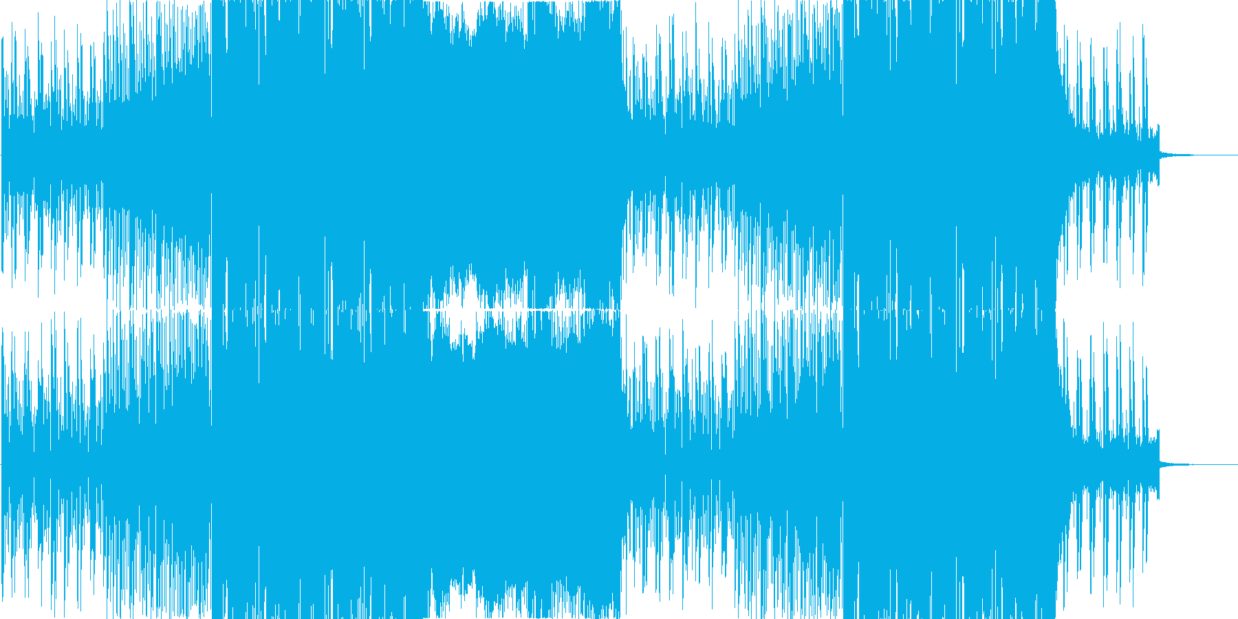 8bitロマンス/ FutureBassの再生済みの波形