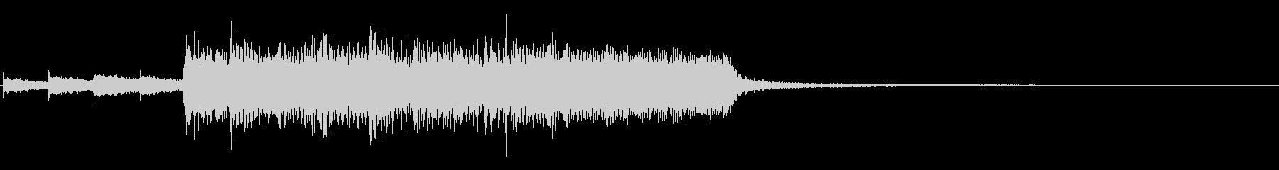結果発表、順位発表 ROCKバージョンの未再生の波形