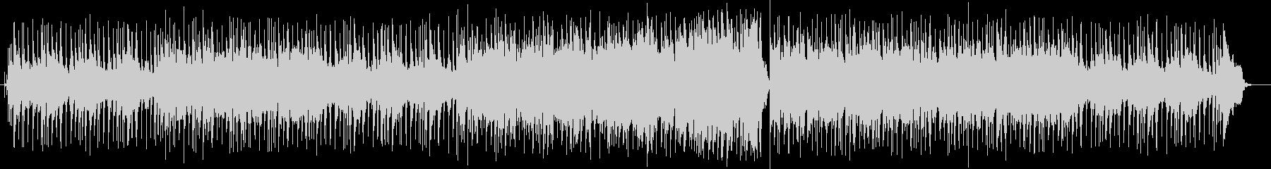 聞きやすい爽やかなBGMの未再生の波形