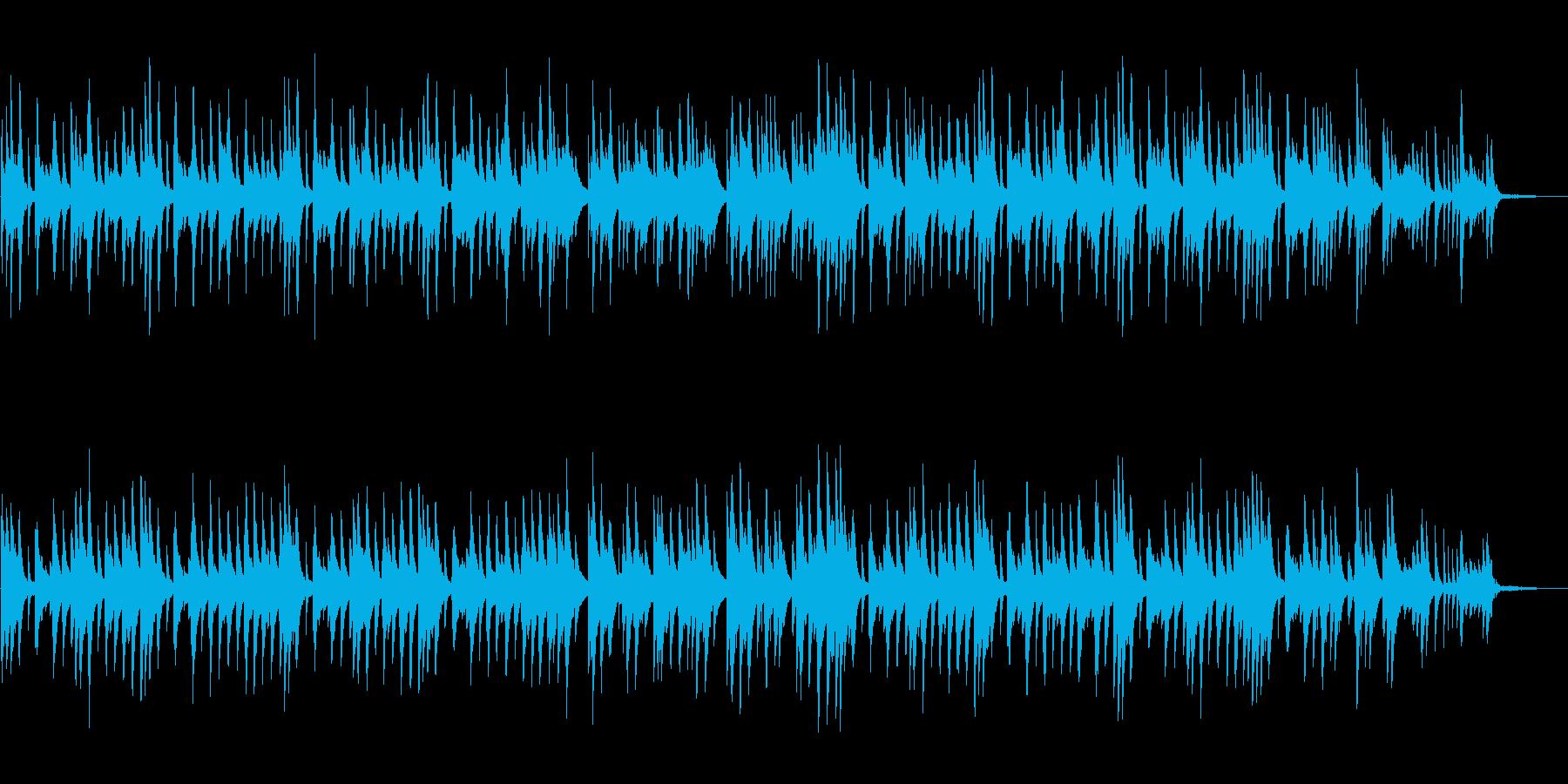 情感を誘う切ないピアノソロBGMの再生済みの波形