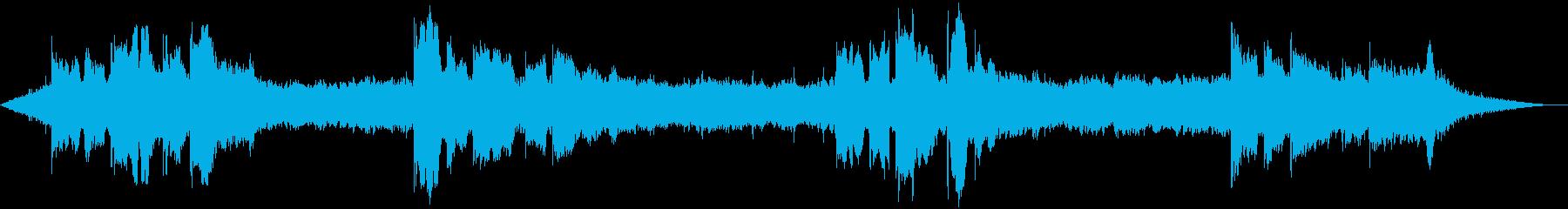 アンビエントムード、リラクゼーショ...の再生済みの波形