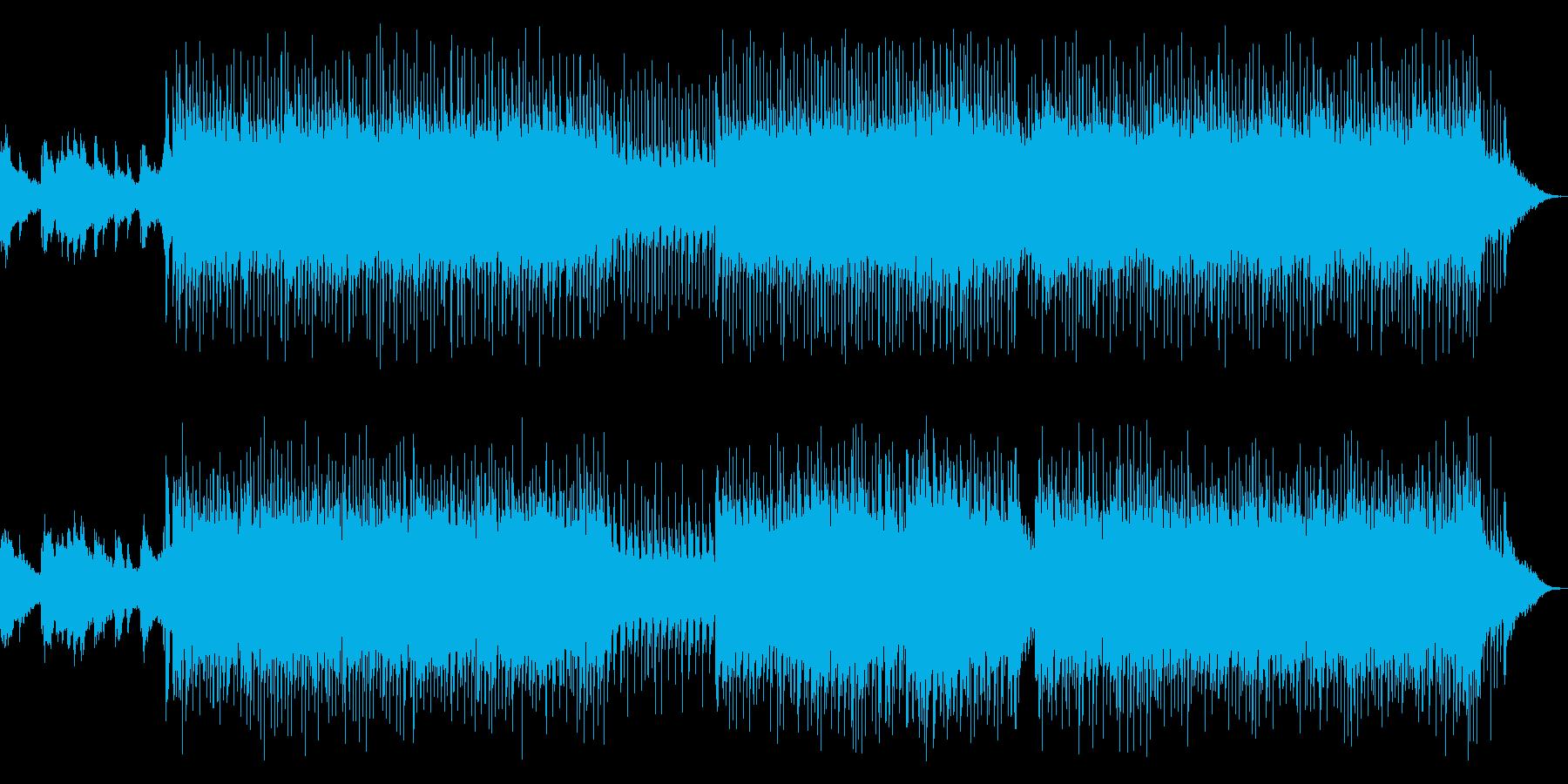 モダン和風EDM/ReMIX/中尺の再生済みの波形