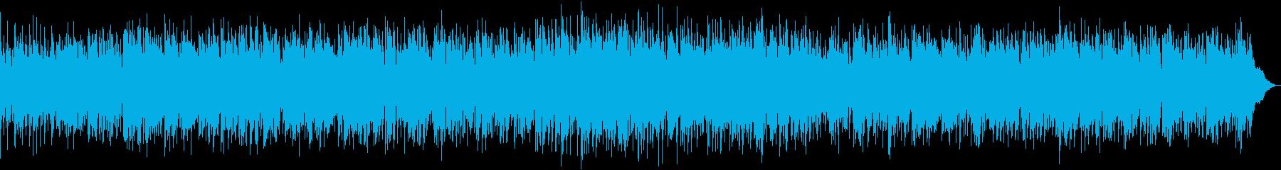 ピアノとサックスのゆったりポップスの再生済みの波形