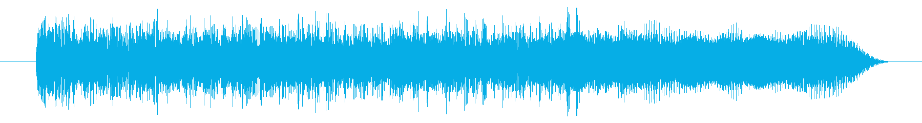 エレキギター・ジングル・場面転換・OPの再生済みの波形