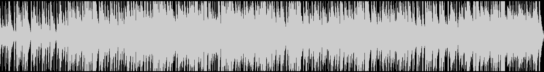 カフェで流れるようなJAZZ ループ仕様の未再生の波形
