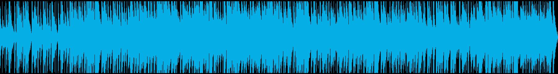 カフェで流れるようなJAZZ ループ仕様の再生済みの波形