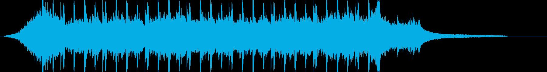 企業VP系48、爽やかピアノ4つ打ちcの再生済みの波形