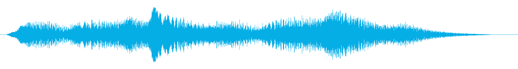 素材 揺れるドローン05の再生済みの波形