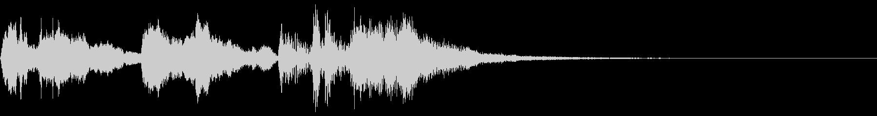 ベートーベン第九二楽章の冒頭部分の未再生の波形