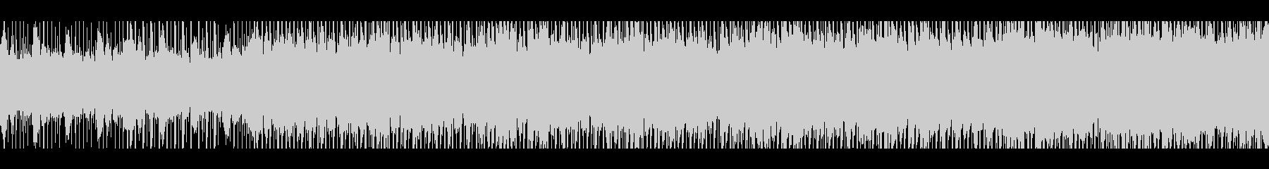 深刻な始まり(ループ)の未再生の波形