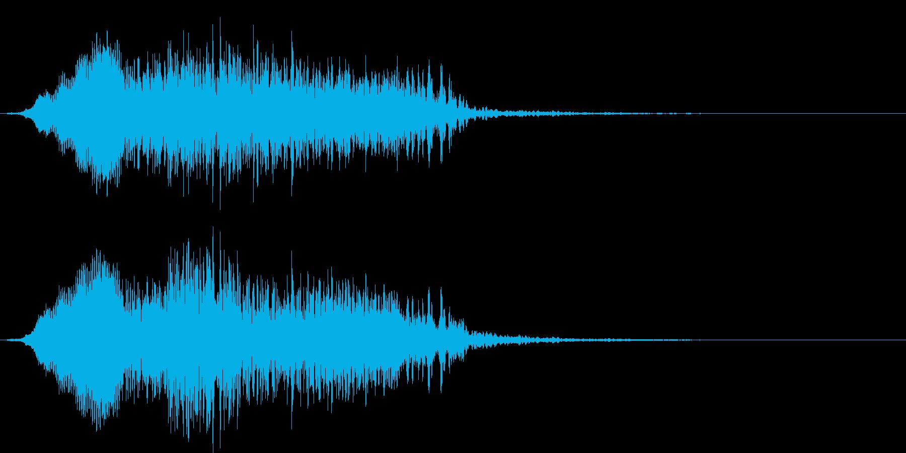 【ホラー・ゲーム】モンスターの声_02の再生済みの波形