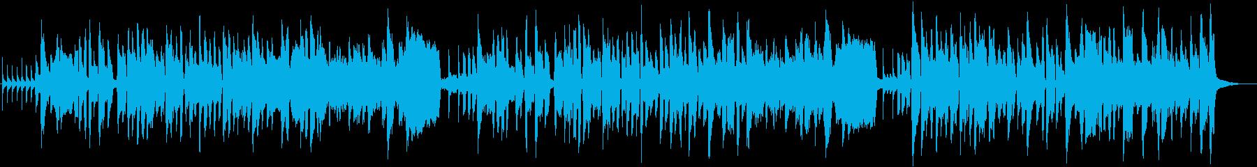 地産地消をテーマにした楽曲の再生済みの波形