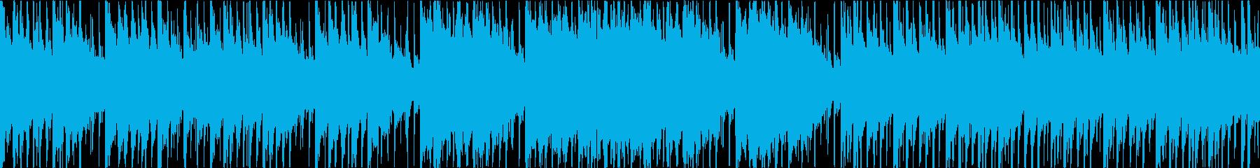 和楽器を使った和風しっとりバラードの再生済みの波形