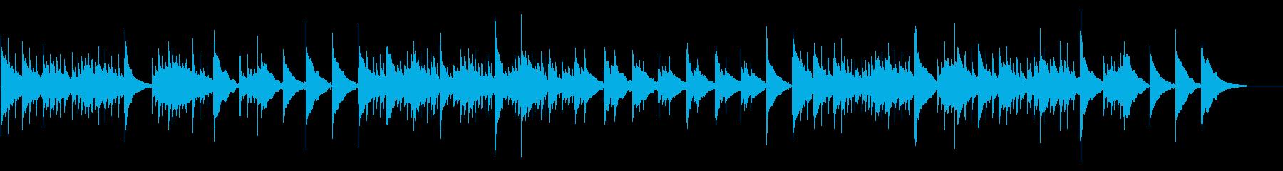 レトロゲームOP/アコギ、ベル風、幻想的の再生済みの波形