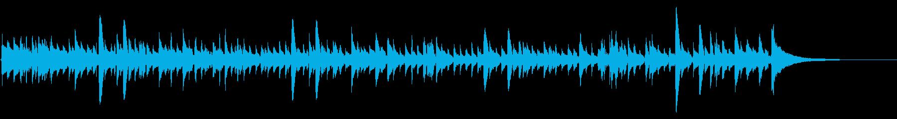 アコギ47/陽気で爽やか、重ね録り、生音の再生済みの波形