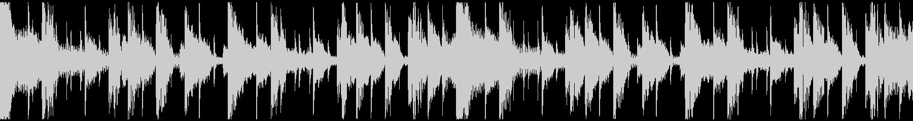 クールなニュージャックスイング(ループ)の未再生の波形