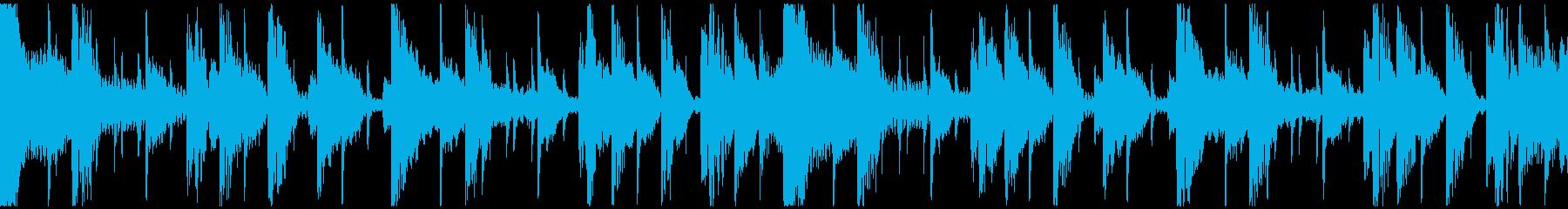 クールなニュージャックスイング(ループ)の再生済みの波形