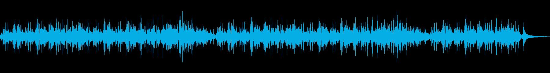 爽やかで軽い感じ 映像向け■ ピアノソロの再生済みの波形