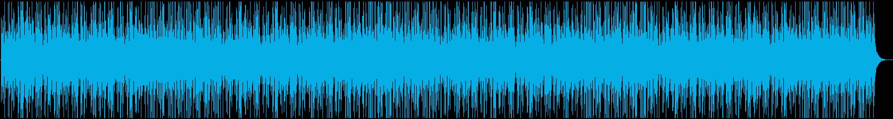 商品紹介・PR 動画などに 和風BGMの再生済みの波形