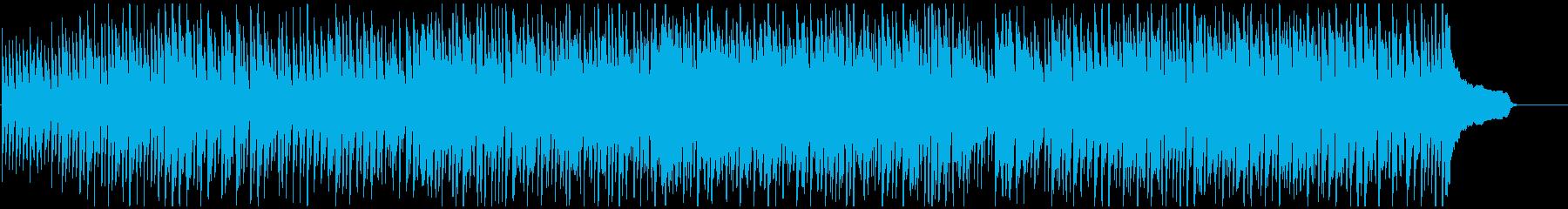 カートゥーン系コメディのリコーダー劇伴の再生済みの波形